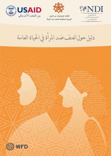 دليل حول العنف ضد النساء في الحياة العامة